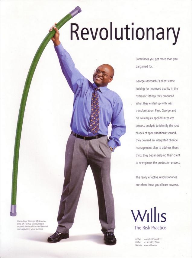 Advertising | Willis |GoodLondonCopywriter