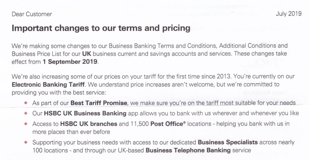 HSBC communications Archives - Good London Copywriter